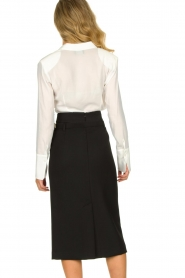Atos Lombardini |  Midi pencil skirt Jaelle | black  | Picture 6