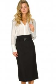 Atos Lombardini |  Midi pencil skirt Jaelle | black  | Picture 4