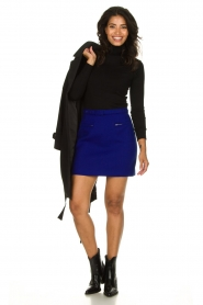 Atos Lombardini |  Skirt with zip details Zoella | blue  | Picture 3