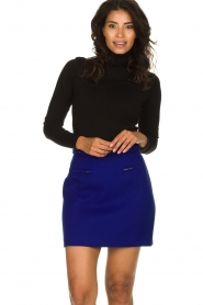 Atos Lombardini |  Skirt with zip details Zoella | blue  | Picture 2