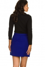Atos Lombardini |  Skirt with zip details Zoella | blue  | Picture 5