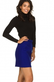 Atos Lombardini |  Skirt with zip details Zoella | blue  | Picture 4
