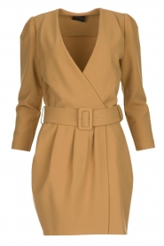 Atos Lombardini |  Blazer dress Carlijn | camel  | Picture 1