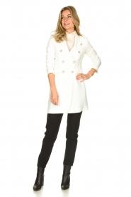 Atos Lombardini | Coat Melanie | white  | Picture 3