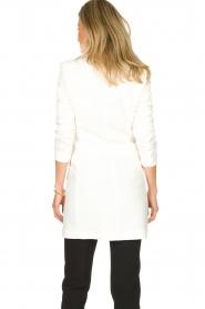 Atos Lombardini | Coat Melanie | white  | Picture 5