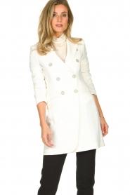 Atos Lombardini | Coat Melanie | white  | Picture 2