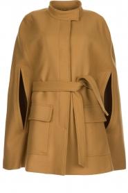 Atos Lombardini | Woolen coat Petra | camel  | Picture 1