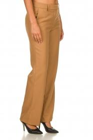 Atos Lombardini |  Classic trousers Dawea | camel  | Picture 4