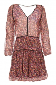 Freebird |  Dress with floral print Kia | pink  | Picture 1