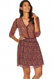 Freebird |  Dress with floral print Kia | pink  | Picture 2