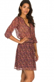 Freebird |  Dress with floral print Kia | pink  | Picture 5