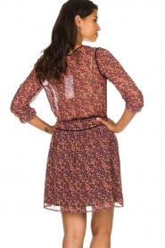 Freebird |  Dress with floral print Kia | pink  | Picture 6
