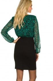 Freebird |  Leopard printed dress Milena | animal print  | Picture 4