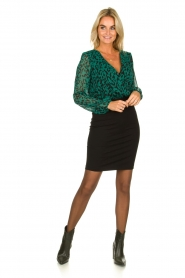 Freebird |  Leopard printed dress Milena | animal print  | Picture 3
