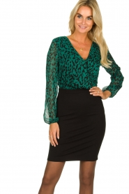 Freebird |  Leopard printed dress Milena | animal print  | Picture 2