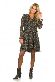 Freebird |  Floral dress Lexie | black  | Picture 6