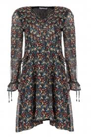 Freebird |  Floral dress Lexie | black  | Picture 1