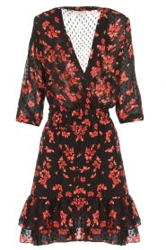 Freebird |  Floral dress Emily | black  | Picture 1