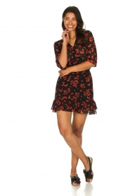 Freebird |  Floral dress Emily | black  | Picture 3