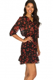 Freebird |  Floral dress Emily | black  | Picture 5