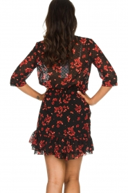Freebird |  Floral dress Emily | black  | Picture 6