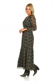Freebird |  Floral maxi dress Melody | black  | Picture 3
