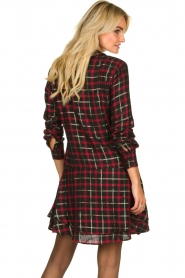 Freebird |  Checkered dress Marilyn | black  | Picture 6