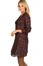 Freebird |  Checkered dress Marilyn | black  | Picture 5