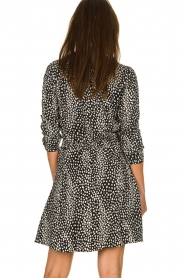 Freebird |  Leopard printed dress Gianna | black  | Picture 5