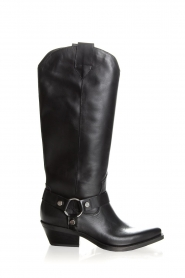 Janet & Janet | Leather boots Amanda | black  | Picture 3