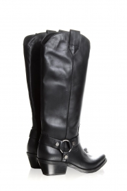 Janet & Janet | Leather boots Amanda | black  | Picture 5