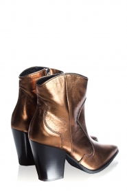 Janet & Janet : Leather boots Tonia | metallic - img4