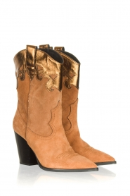 Janet & Janet |  Cowboy boots Diana | brown  | Picture 3