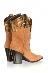 Janet & Janet |  Cowboy boots Diana | brown  | Picture 4
