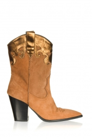 Janet & Janet |  Cowboy boots Diana | brown  | Picture 1