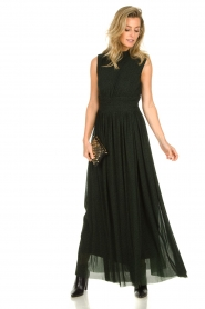 Silvian Heach |  Maxi dress Bouatem | green    | Picture 3