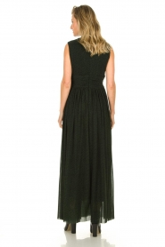 Silvian Heach |  Maxi dress Bouatem | green    | Picture 5