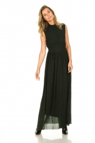 Silvian Heach |  Maxi dress Bouatem | green    | Picture 4