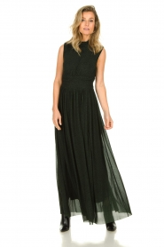 Silvian Heach |  Maxi dress Bouatem | green    | Picture 2