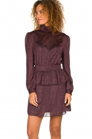 Silvian Heach | Dress Osieaux | purple  | Picture 5