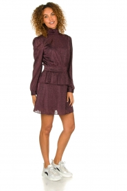 Silvian Heach | Dress Osieaux | purple  | Picture 3