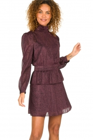 Silvian Heach | Dress Osieaux | purple  | Picture 4