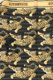 Silvian Heach | Scarf with tiger print Karruba | multi  | Picture 3