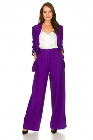 Silvian Heach | Blazer Cupano | purple  | Picture 3