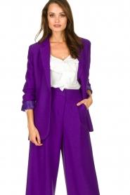 Silvian Heach | Blazer Cupano | purple  | Picture 2