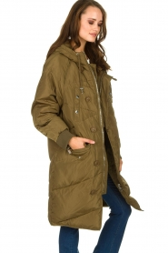 Silvian Heach | Down jacket Dhaya | green  | Picture 4