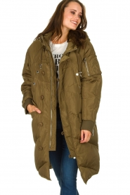 Silvian Heach | Down jacket Dhaya | green  | Picture 2