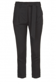 Silvian Heach | Trousers with ceinture Talai | black  | Picture 1