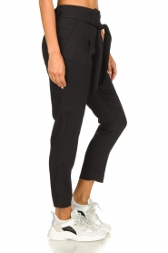 Silvian Heach | Trousers with ceinture Talai | black  | Picture 4