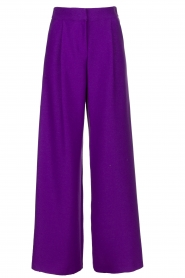 Silvian Heach | Trousers Ablik | purple  | Picture 1